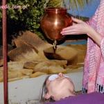 masaż shirodhara-masaż trzeciego oka i głowy z intencją
