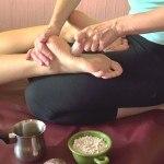 udvartana-masaż proszkami ziołowymi z intencją